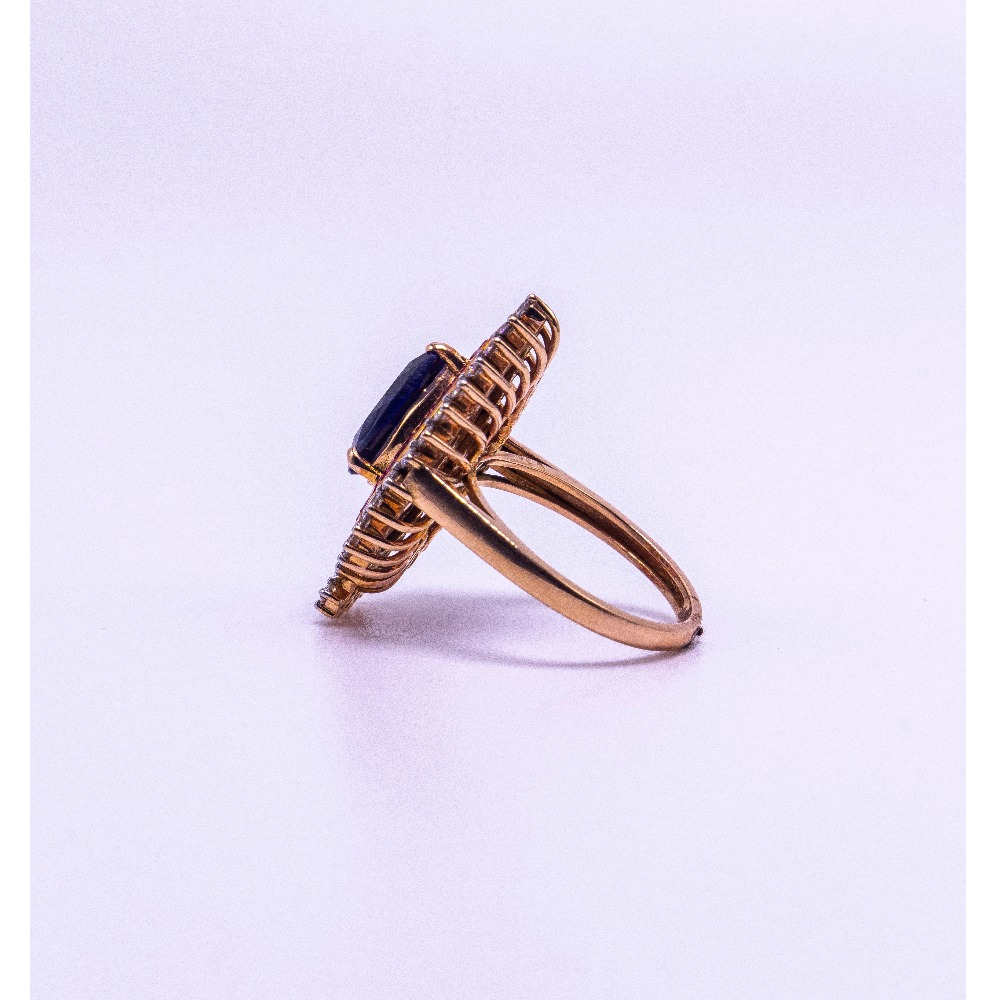 18k  gold multi-color diamond rind agj-lr-278