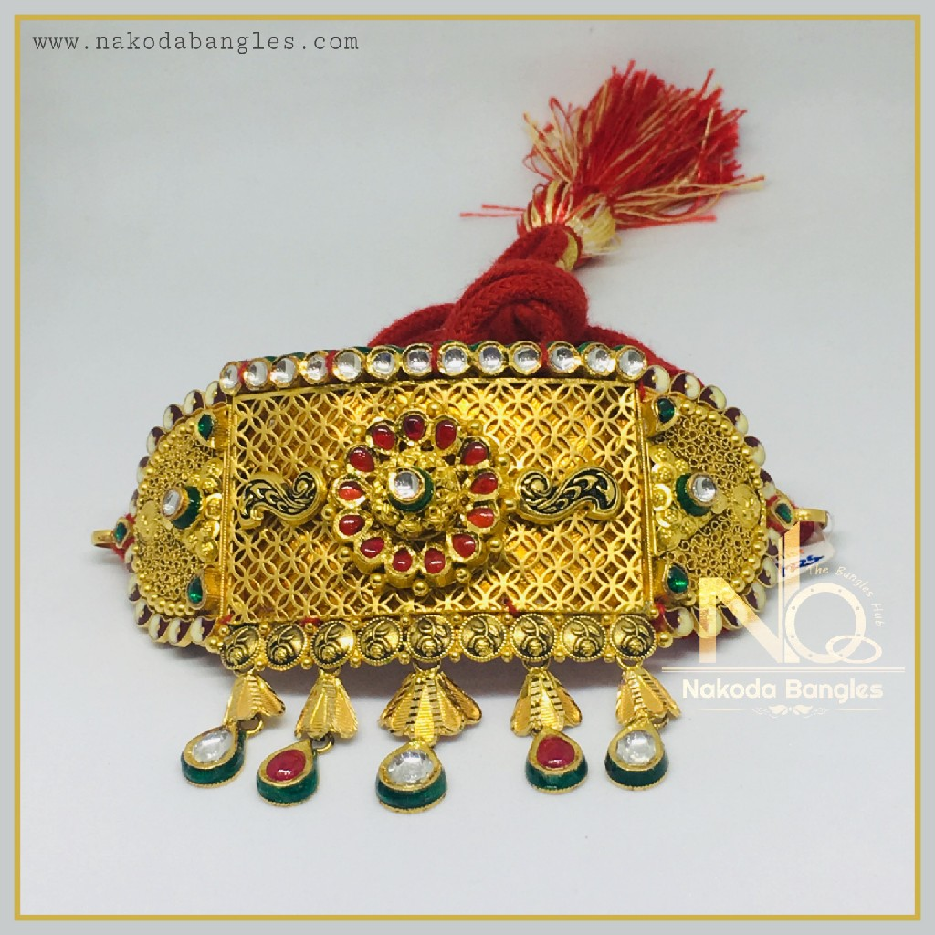 916 Gold Antique Bajubandh NB-362