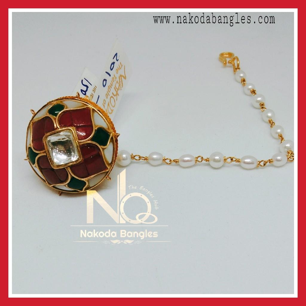 916 Gold Antique Rakhdi NB-268