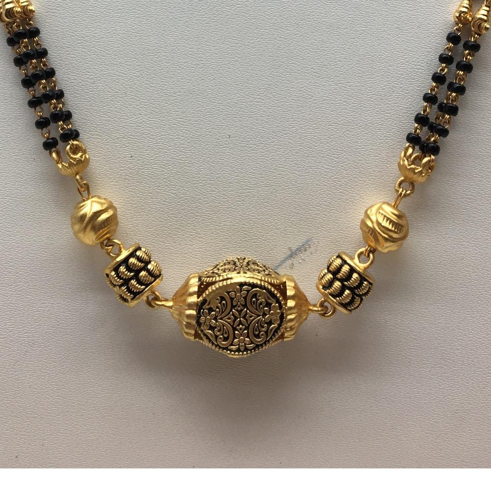 22kt antique wedding jewellery  mangalsutra dokiya