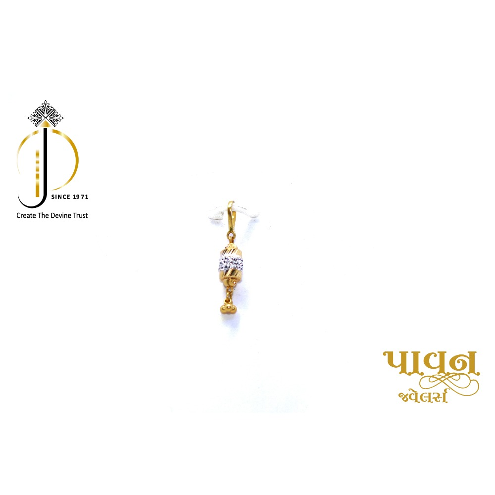 22KT / 916 Gold Fancy Dodi New Born Pendant for kids PNG0075