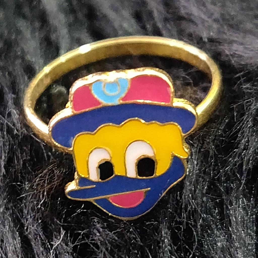 Fancy cartoon ring for kids