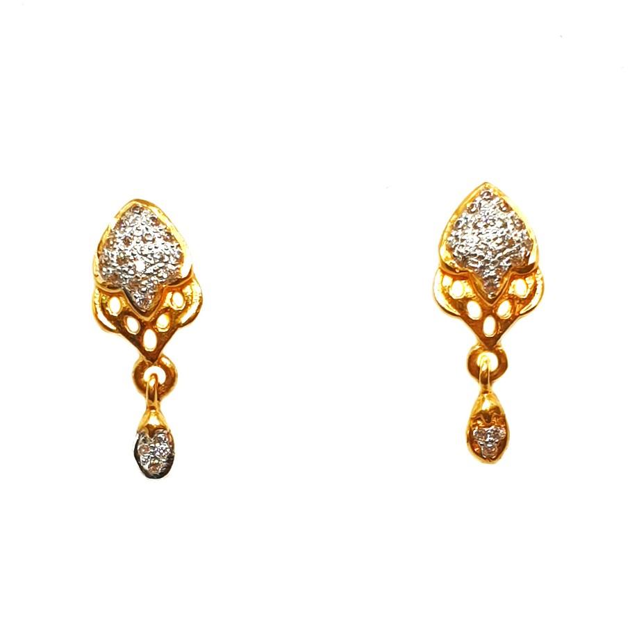 22K Gold Designer Earrings MGA - BTG0023
