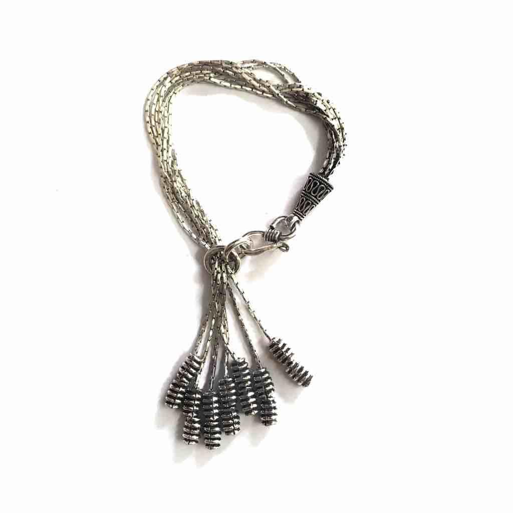 Oxodise adjustable 925 sterling silver ladies bracelet