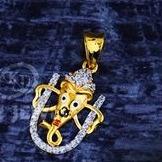 916 Gold Pendal