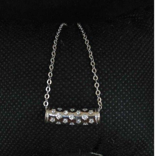 925 Sterling Silver Fancy Pendant Chain