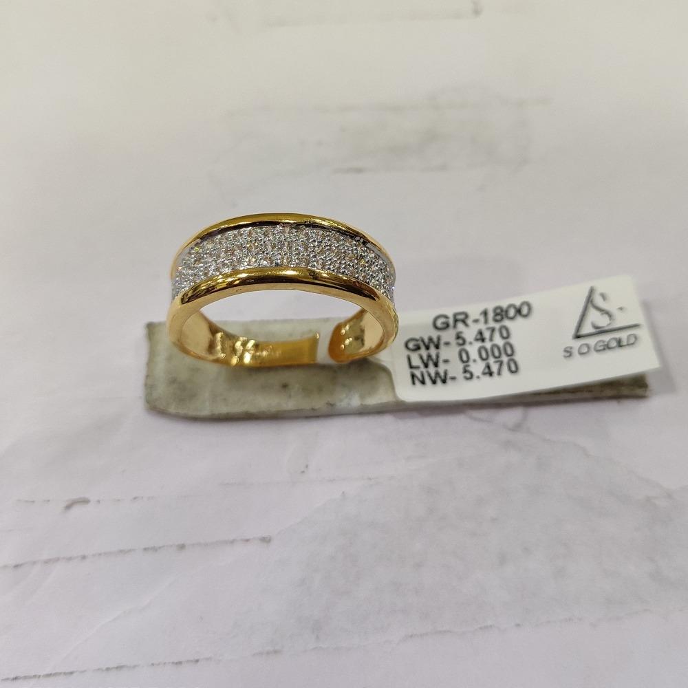 22KT Gold diamond Ring SOG-R039
