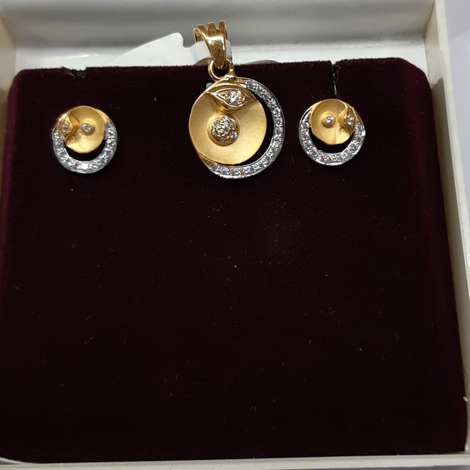 916 hallmark pendant set VJ1256