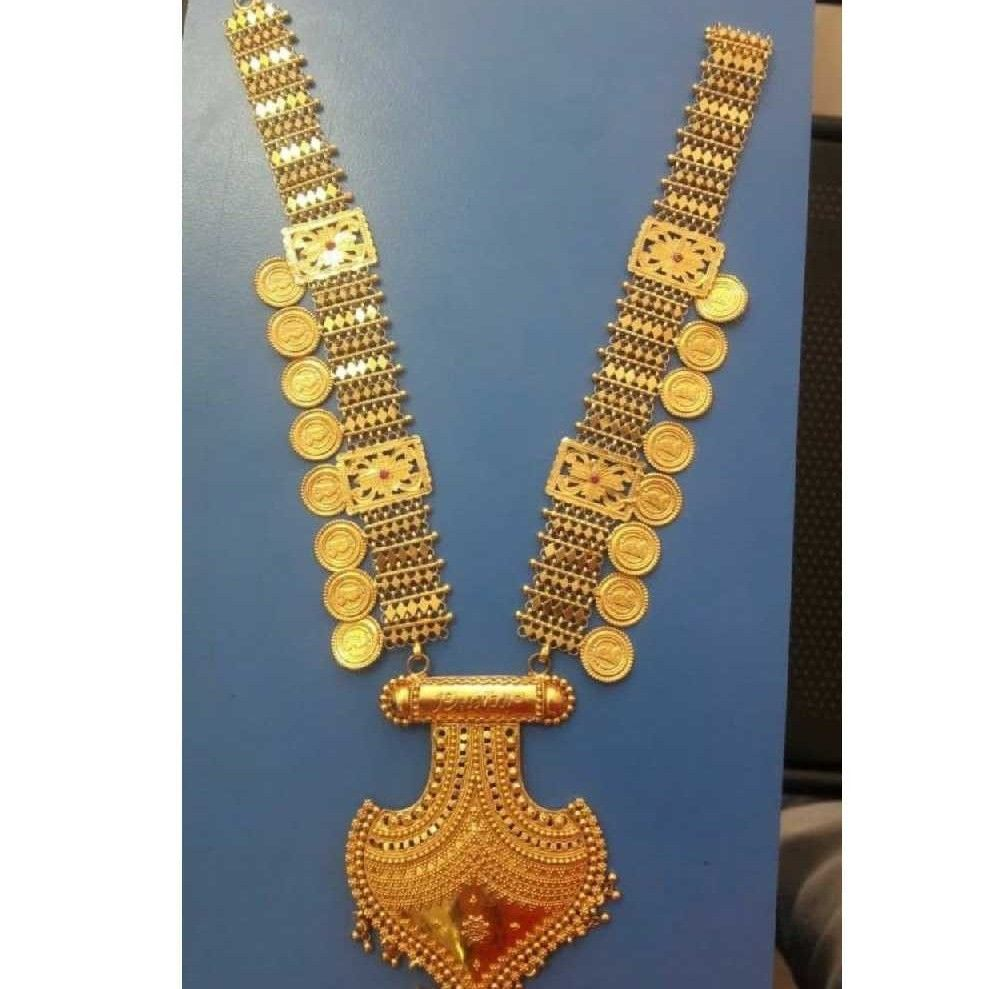 22kt Gold Stylish Necklace