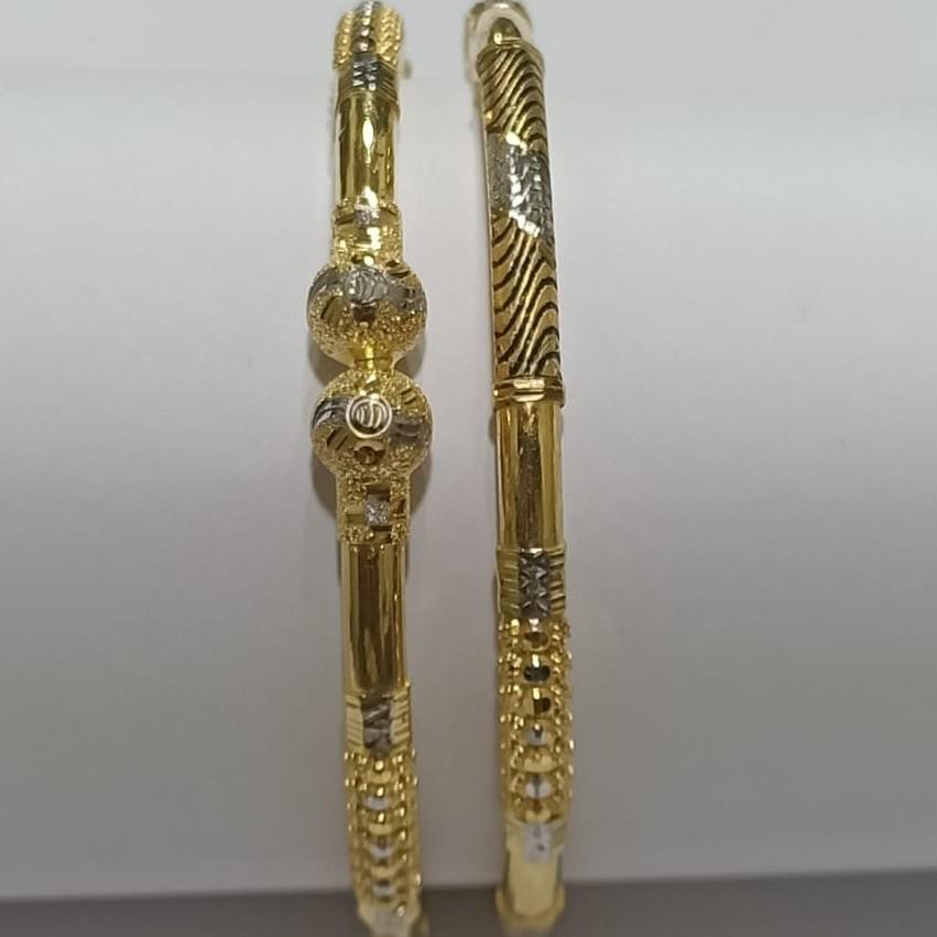 22KT Gold Hallmark CZ Ghaba Kadali SG34