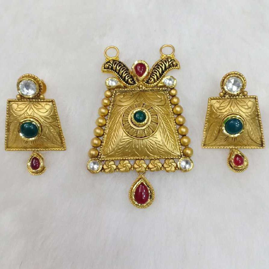 916 Gold Exclusive Pendant Set