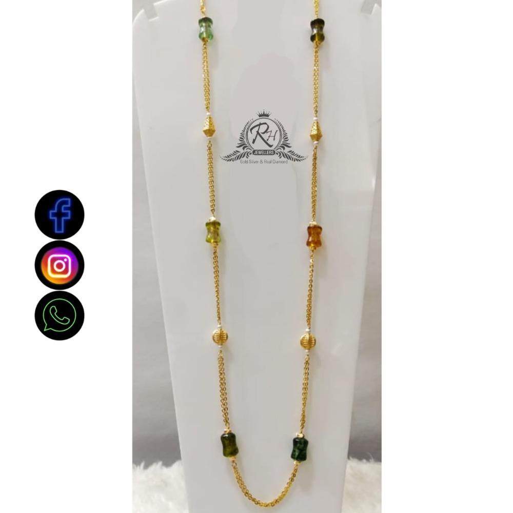 22 carat gold ladies fancy chain RH-CH493