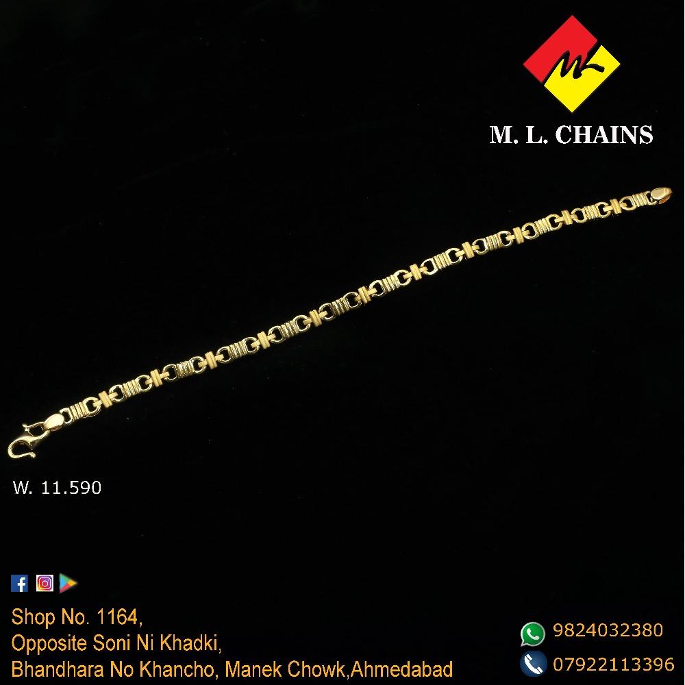 916 Gold Fancy Bracelet ML-B12