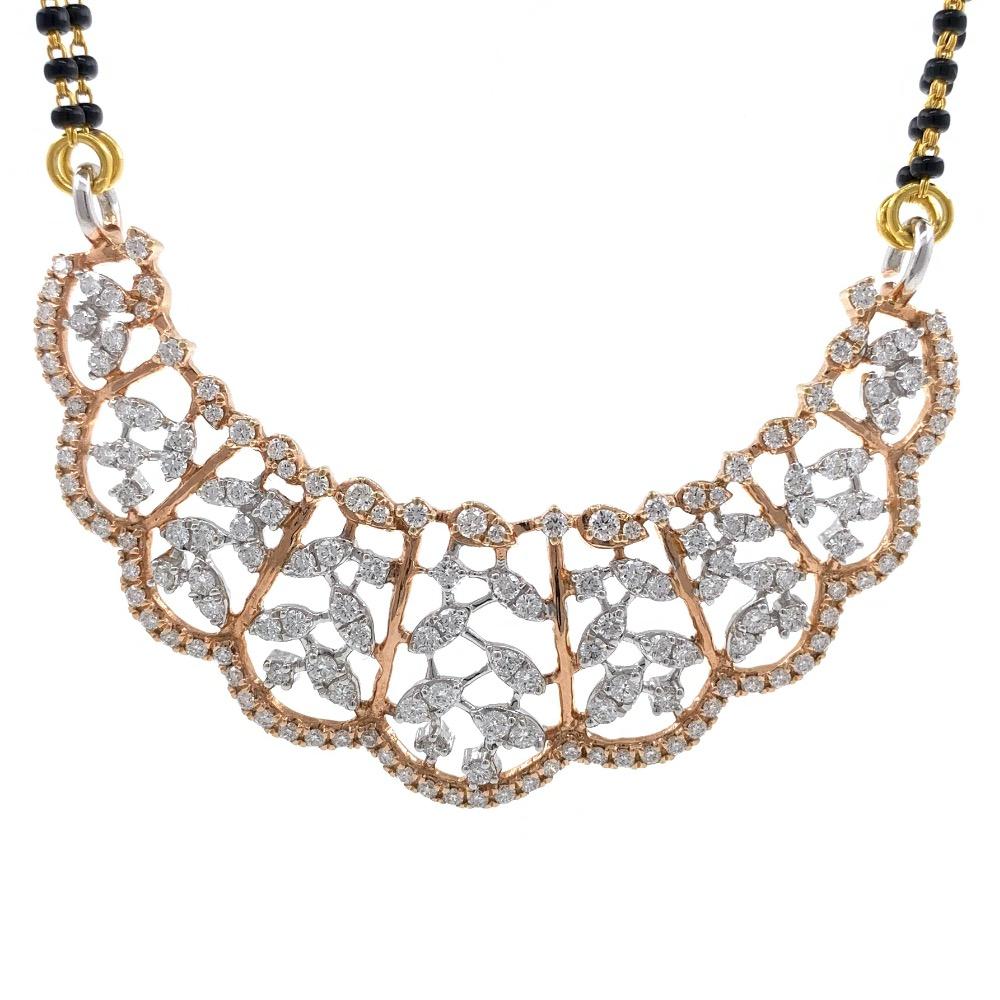 Frunze diamond tanmaniya in 18k rose gold 6dhp120