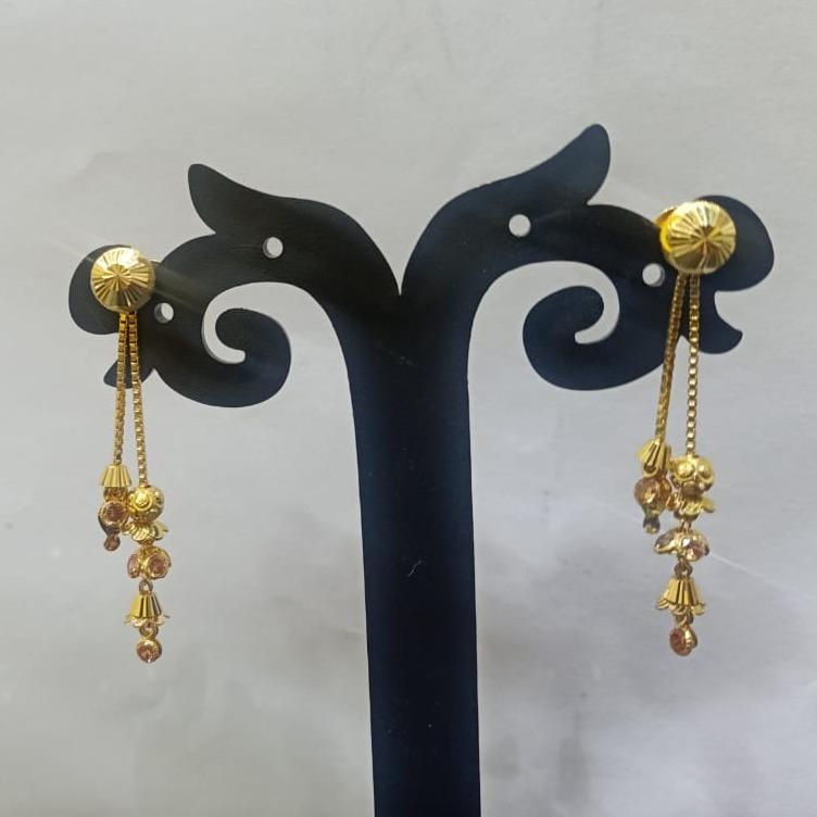 18CT gold traditional design soidora earring