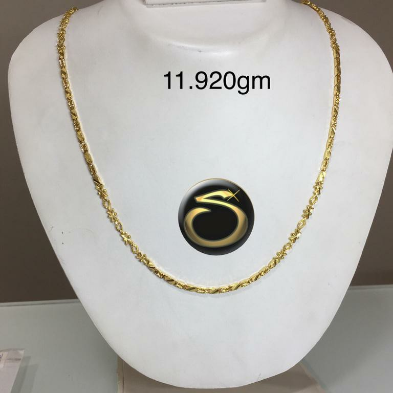 22KT Gold Handmade chain SC-SP8795