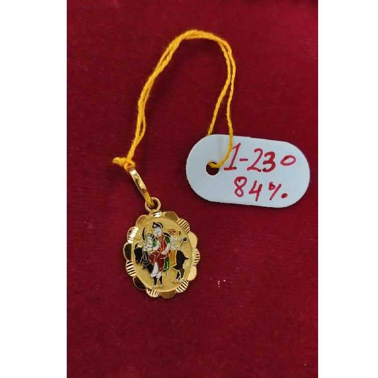 Meladi maa gold pendant