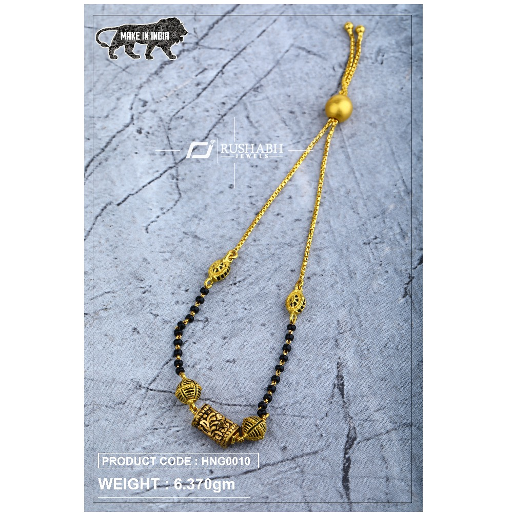 22 Carat 916 Ladies handy antique mangalsutra with chain hng0010