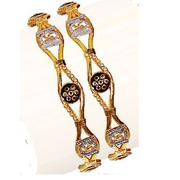 22K/916 Gold Antique Variya Kadli