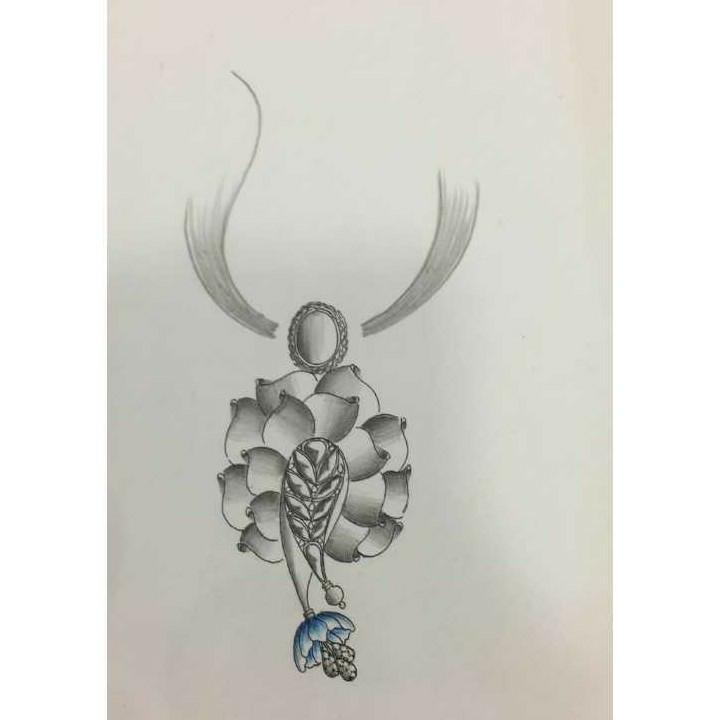 Flower Designing Pendant