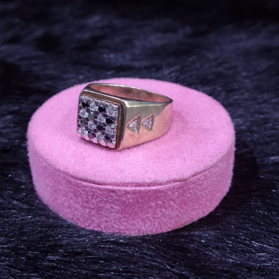 92.5 Sterling Silver Charnell Ring For Men