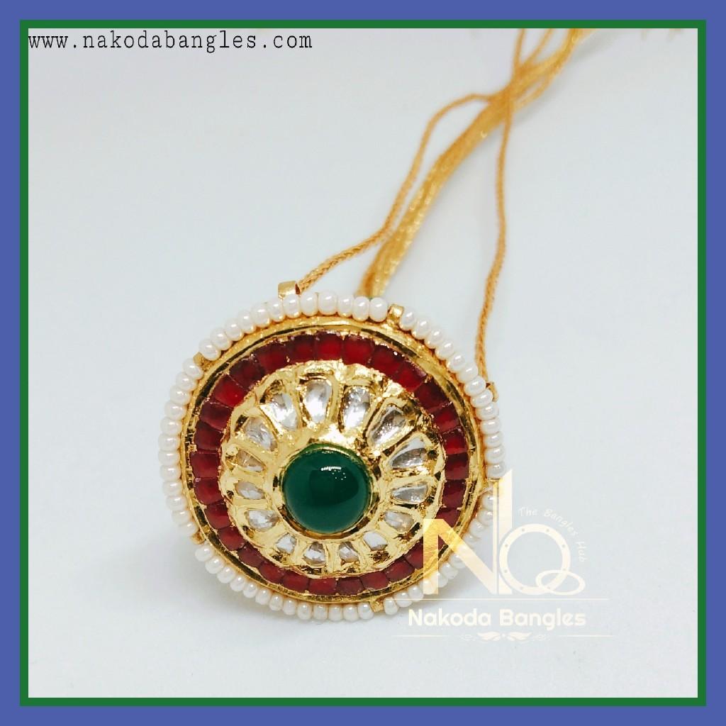 916 Gold Antique Rakhdi NB-262