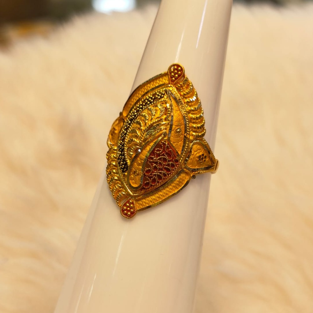 916 Gold Hallmark Ring