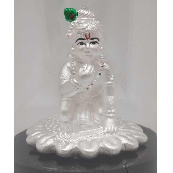 999 Pure Silver KRISHNA Idols