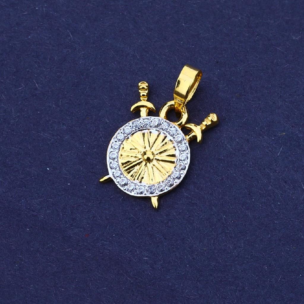 916 Gold Designer Men's Pendant MFP16