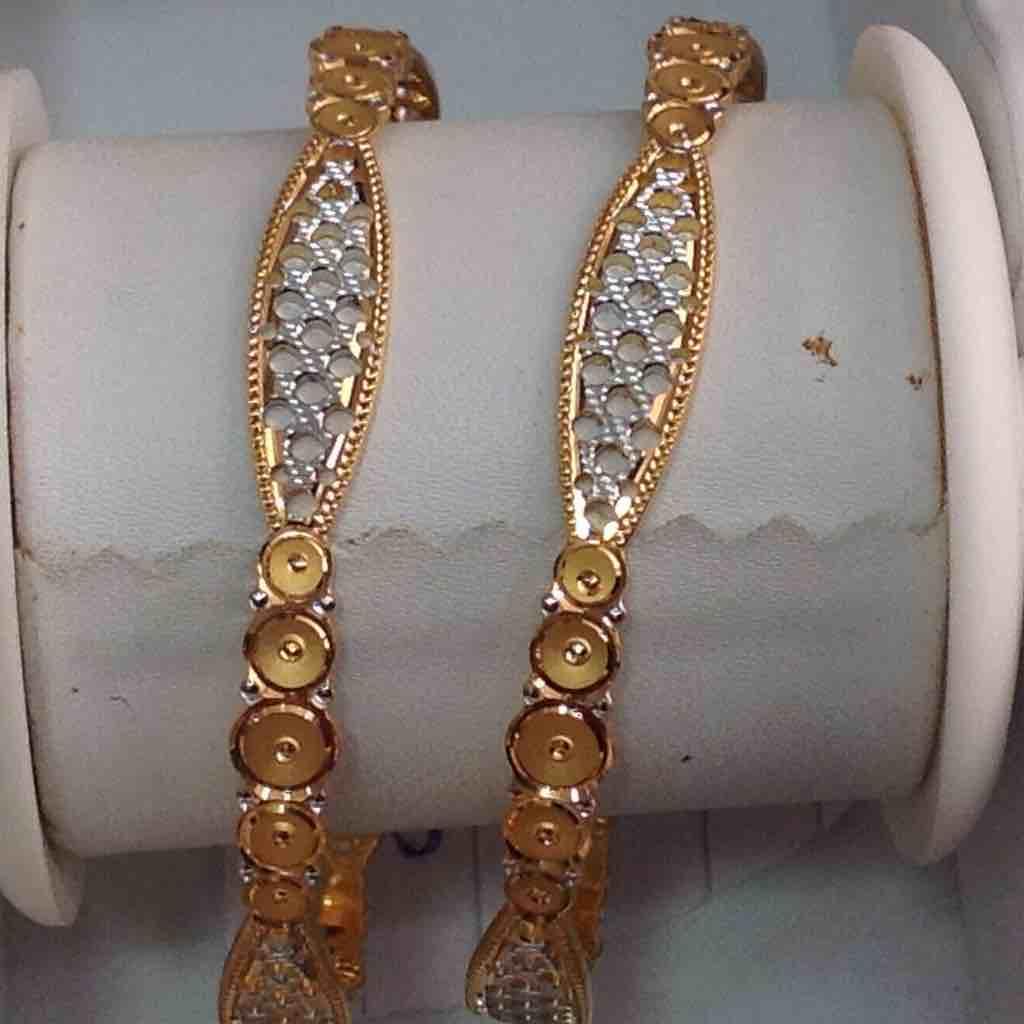 916 Gold Delicate Bangles