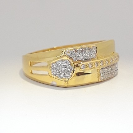 916 cz ring for men's ring