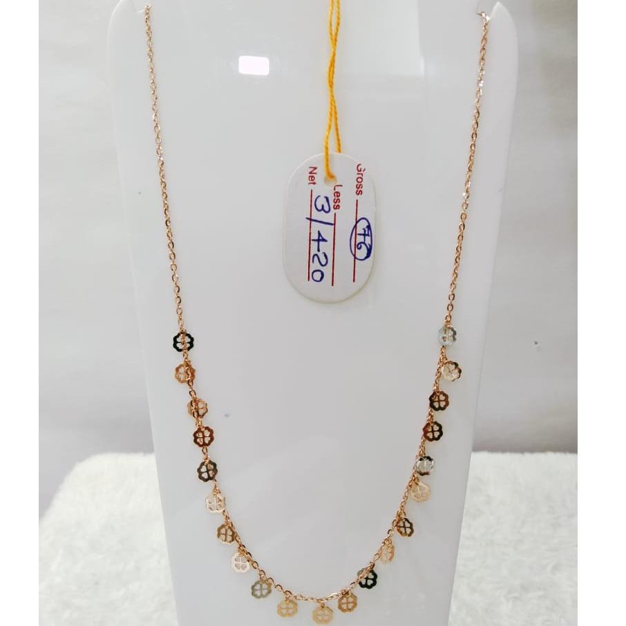 22 carat gold ladies mala RH-LM829