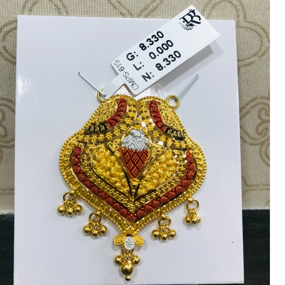 22 carat gold mangalsutra RH-MN777