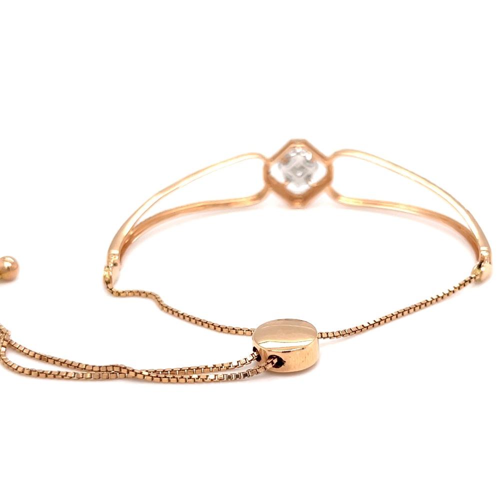 Frumoasa diamond bracelet with flexible adjustable chain