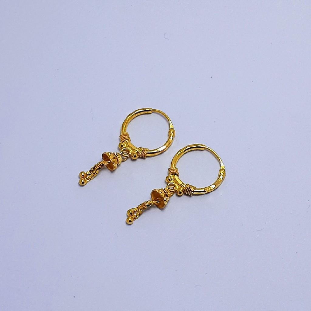 18Kt Gold Fancy Pipe Bali