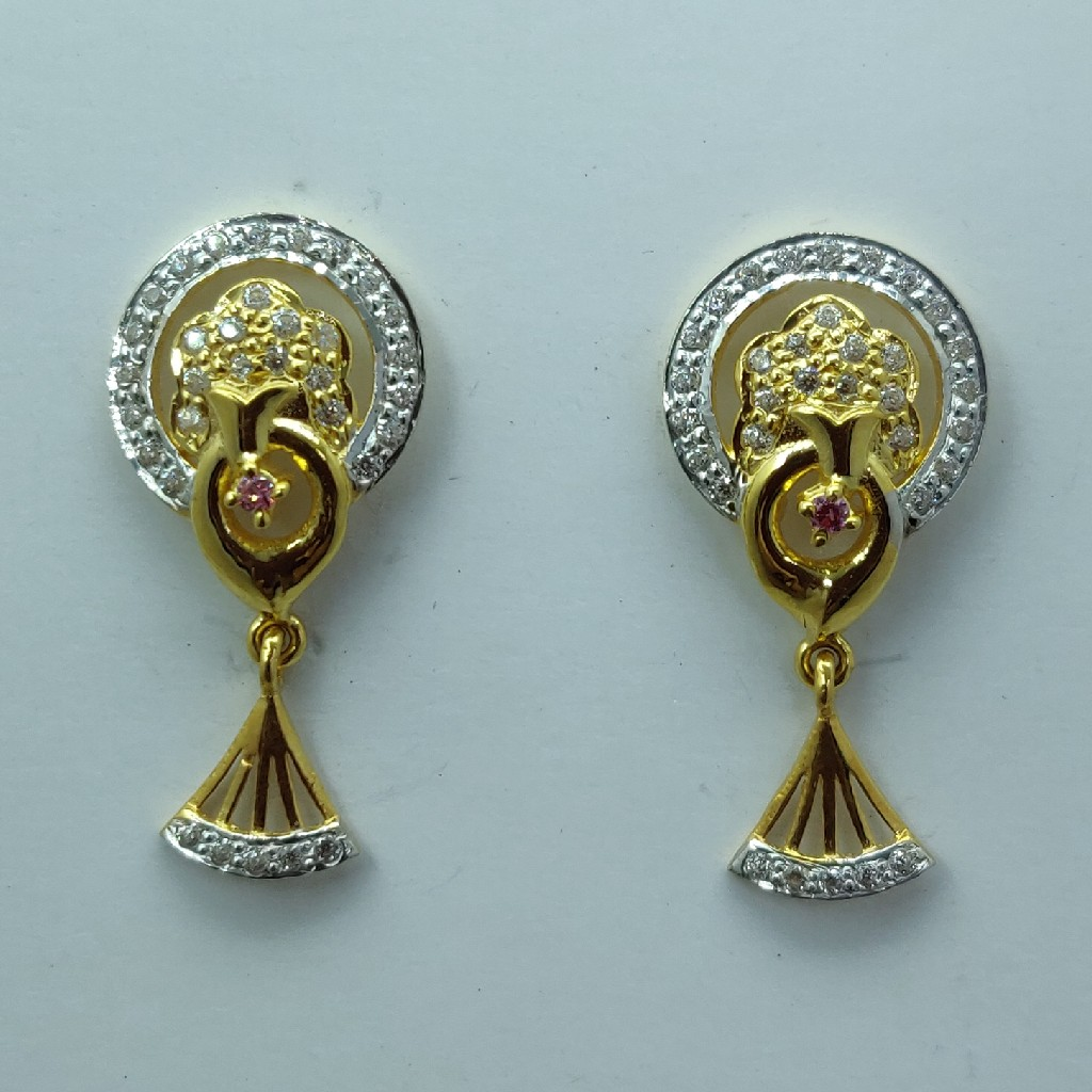 916 fancy light weight earring