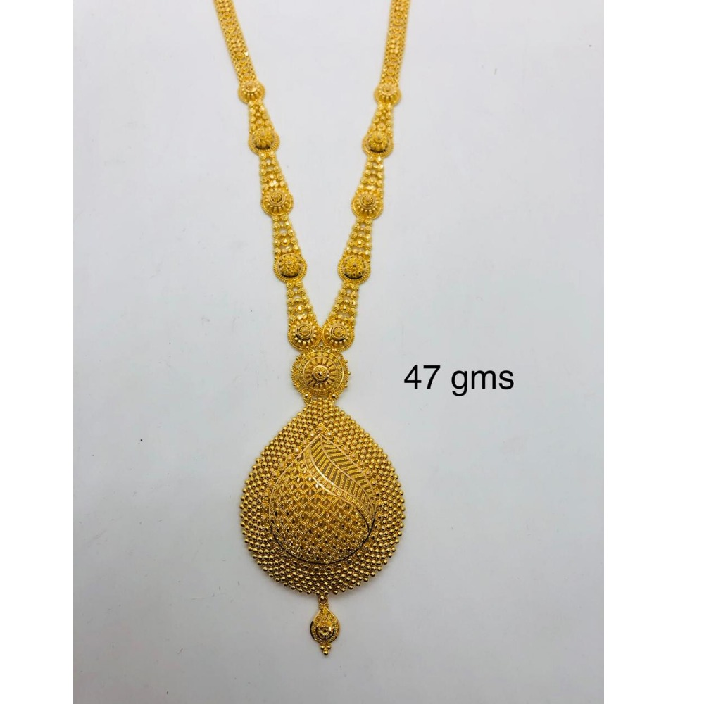 22KT Gold Hallmark Queenly Long Necklace