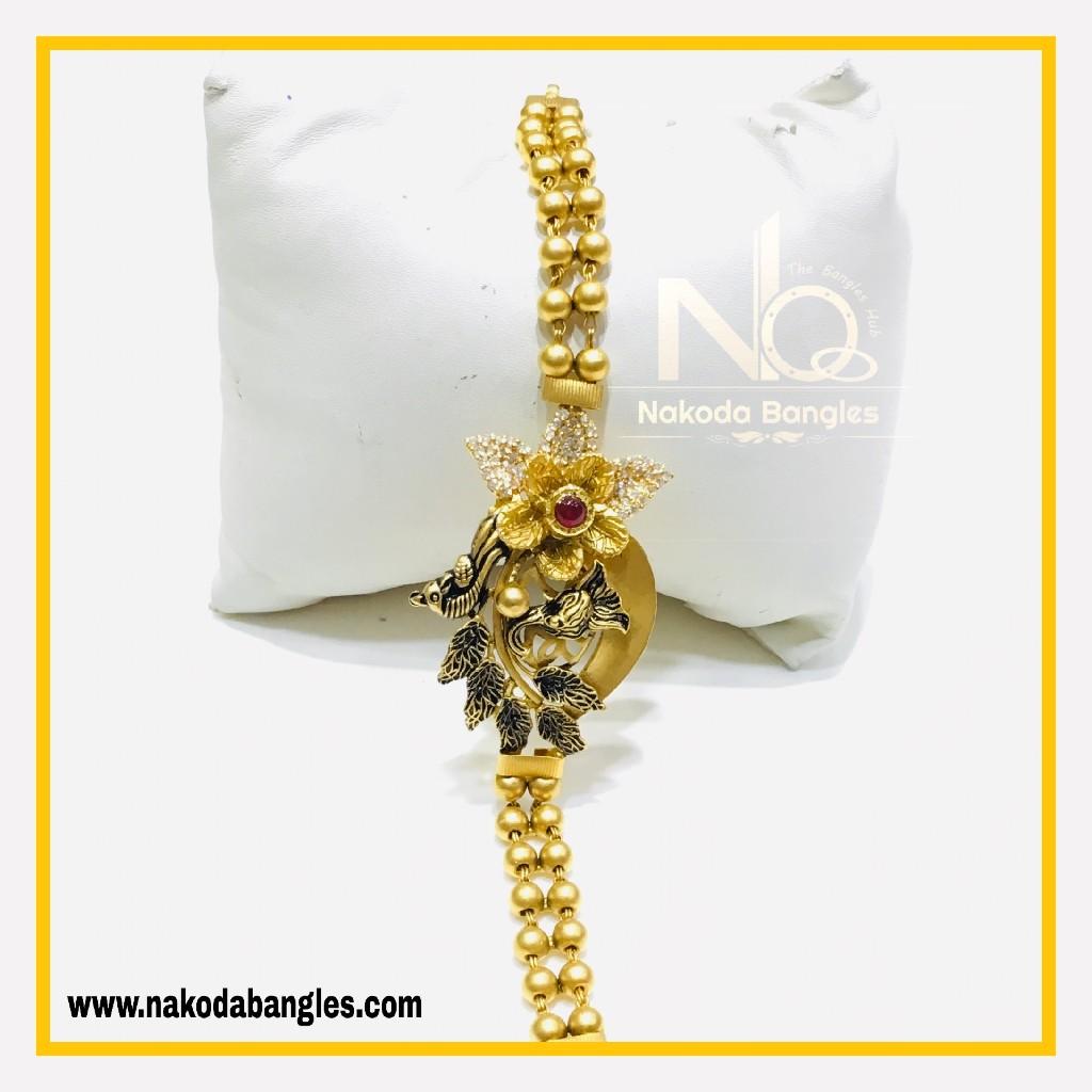 916 Gold Antique Bracelet NB - 563