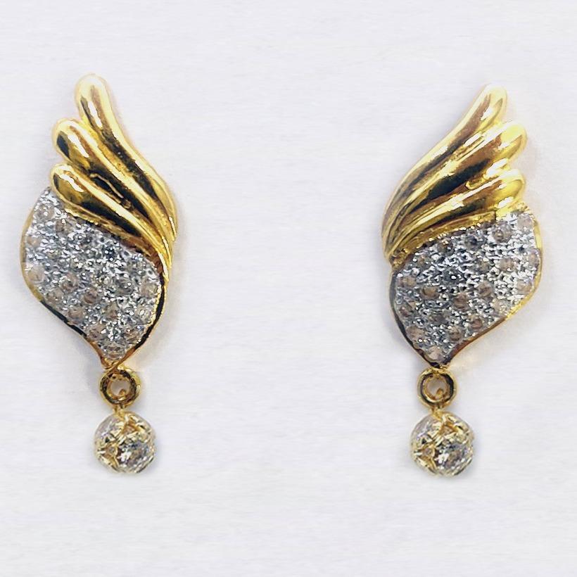 916 22kt gold earrings