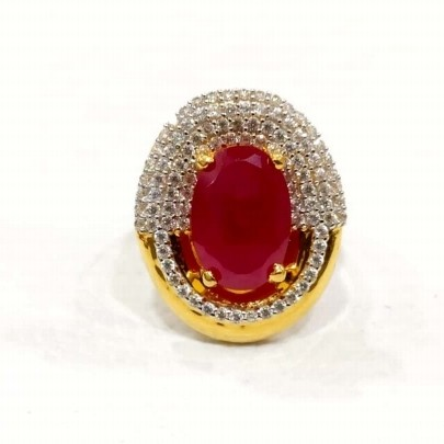 22 k Gold Fancy Ring. NJ-R01015