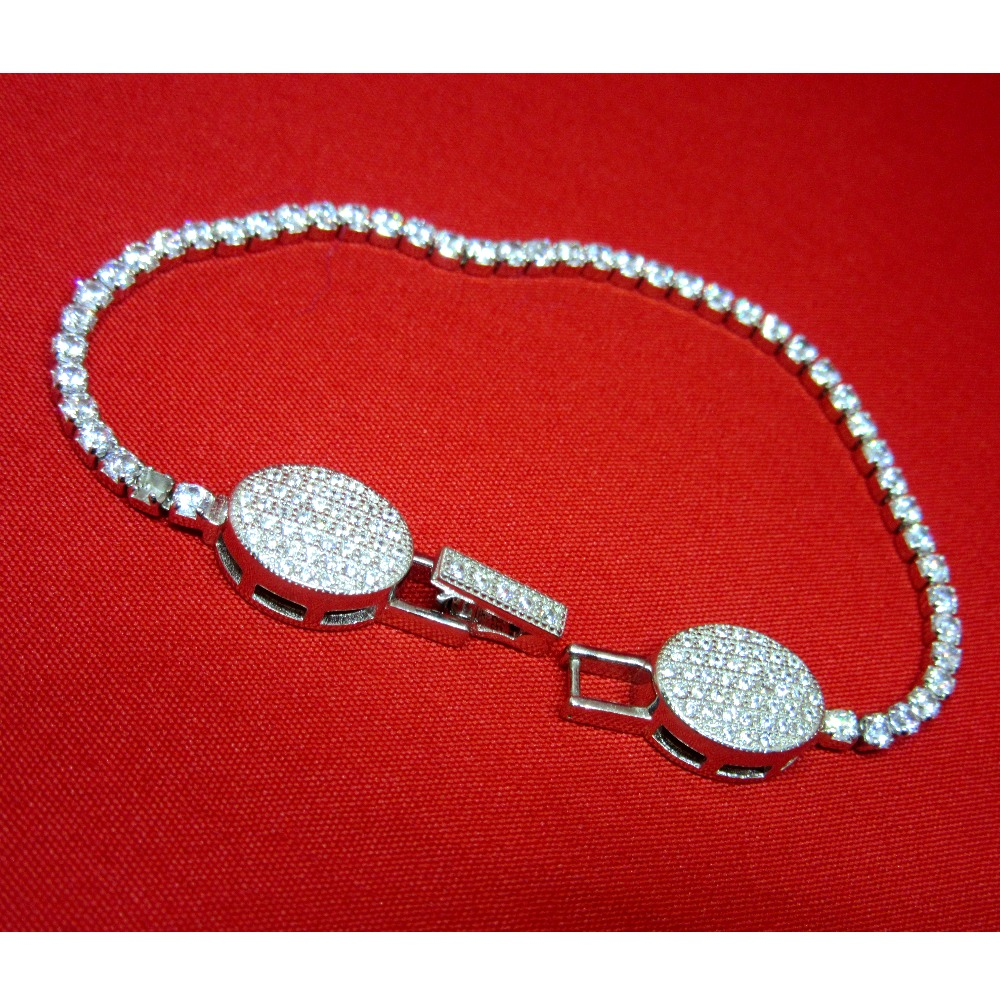 Silver 925 classic bracelet sb925-23