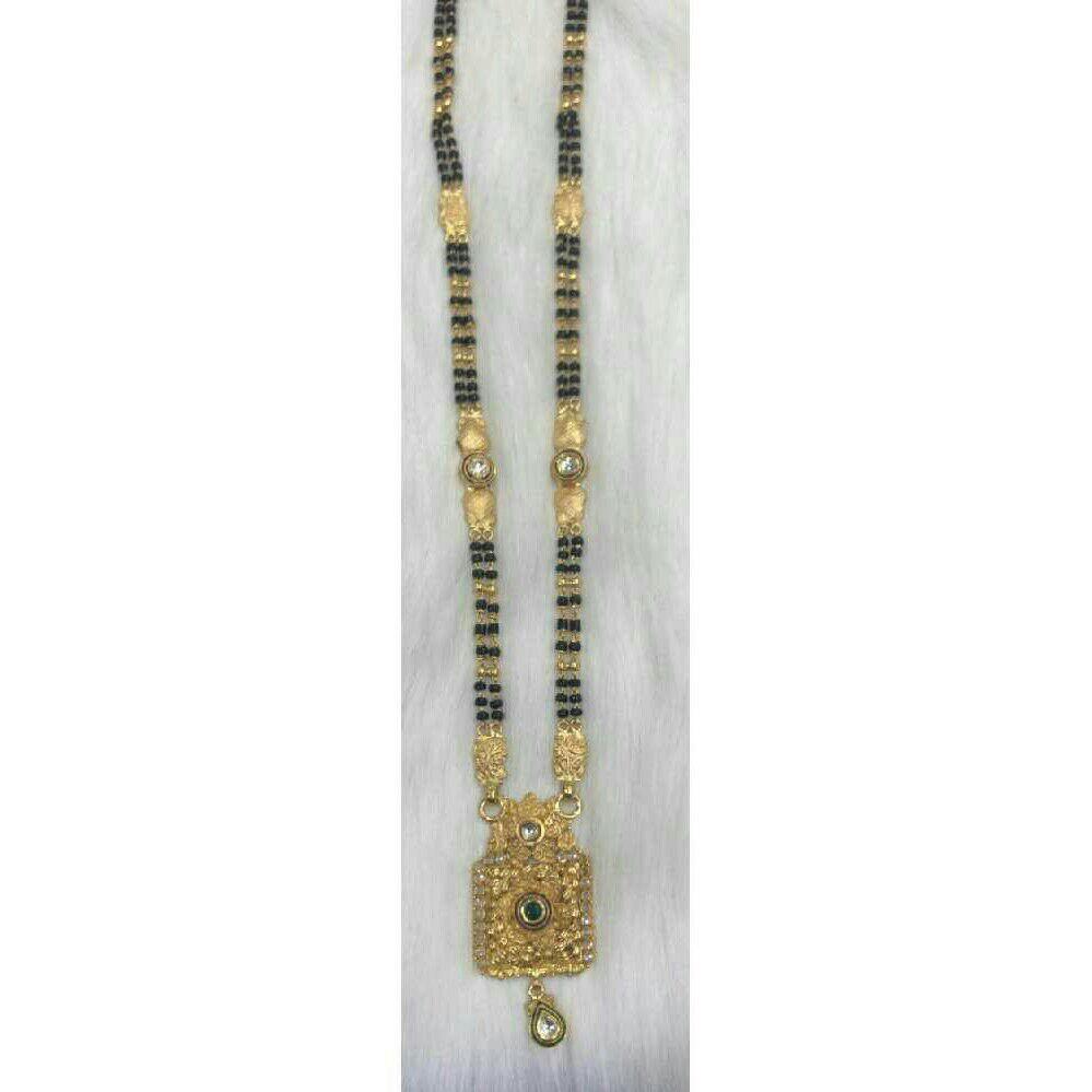 22K/916 Gold Antique Jadtar Mangalsutra
