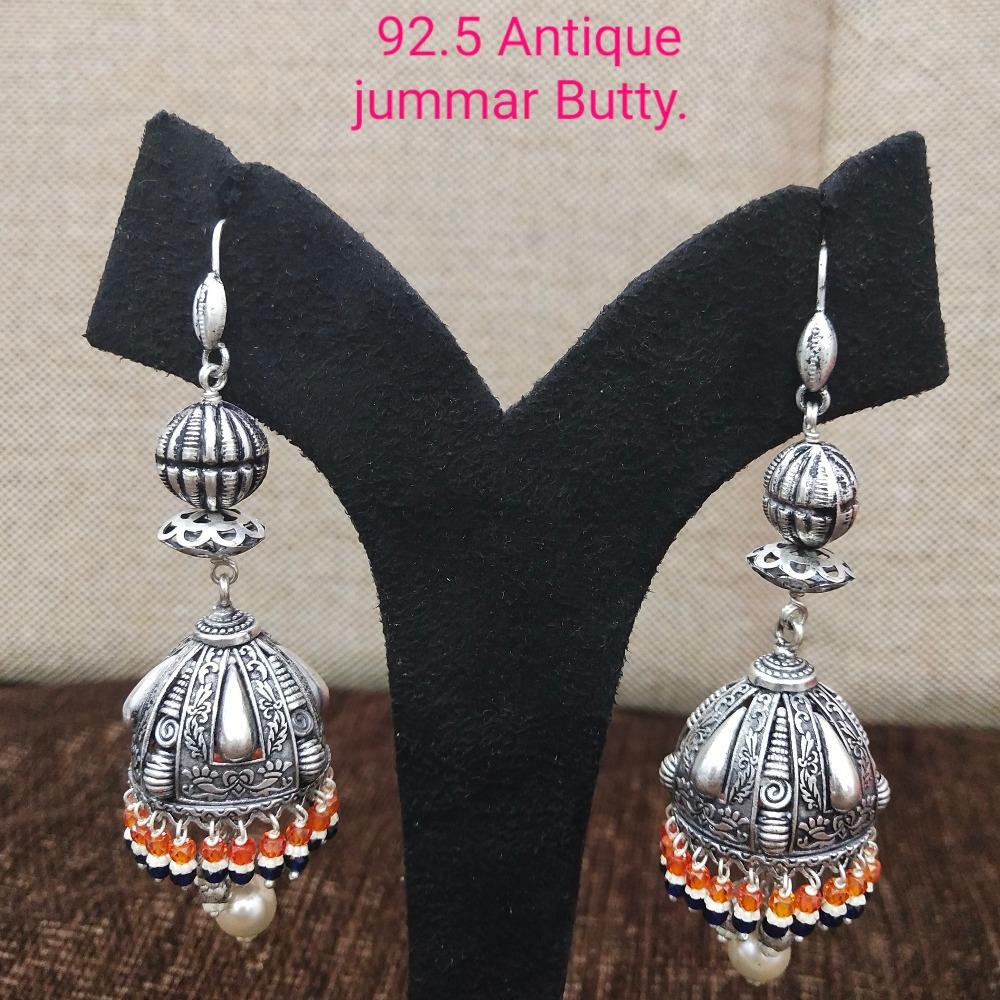 925 Silver Antique Jummar Earring SL-E004
