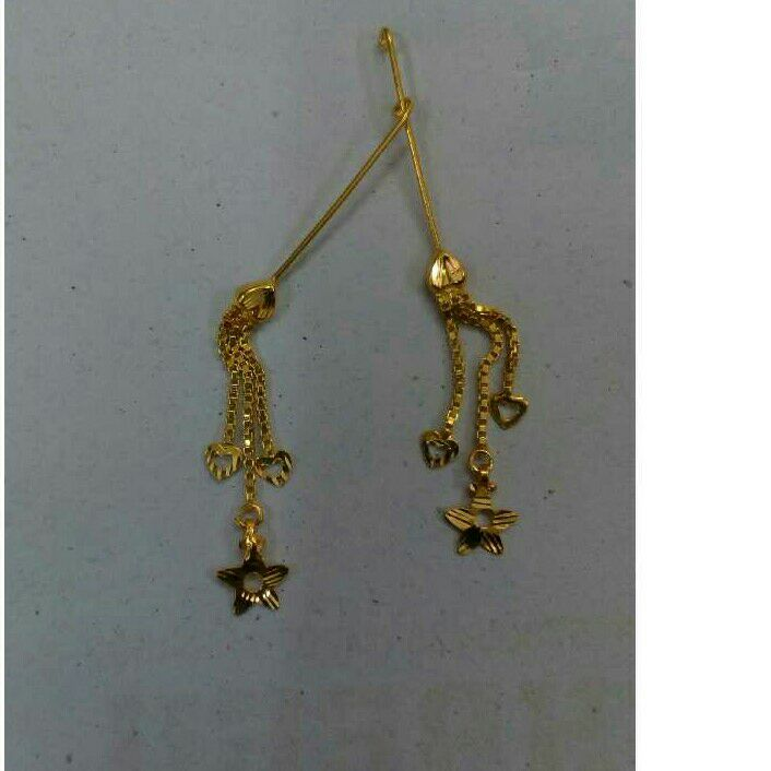 18Kt Gold Fancy Ladies Latkan
