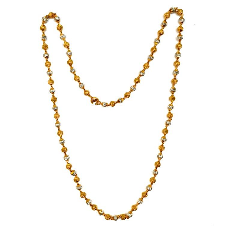 1 Gram Gold Forming Mala MGA - MLE0029