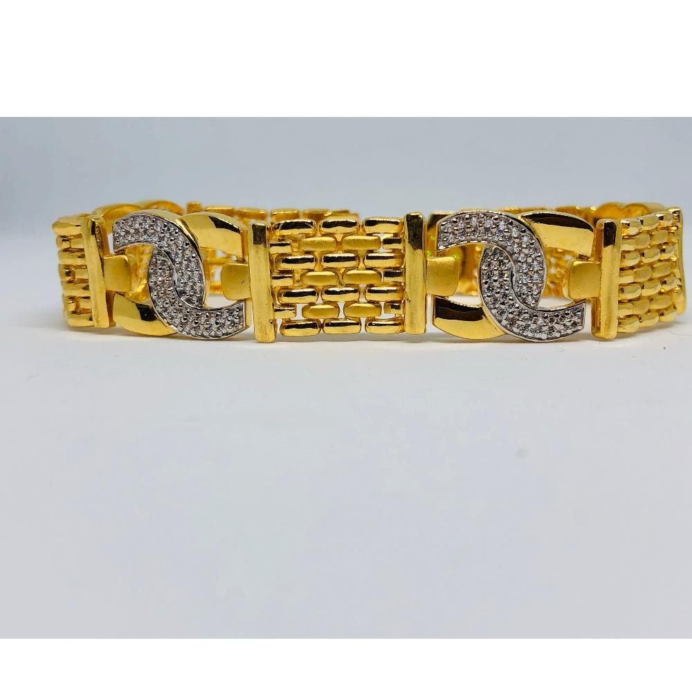 22KT Gold Fancy Lucky For Men KDJ-B001