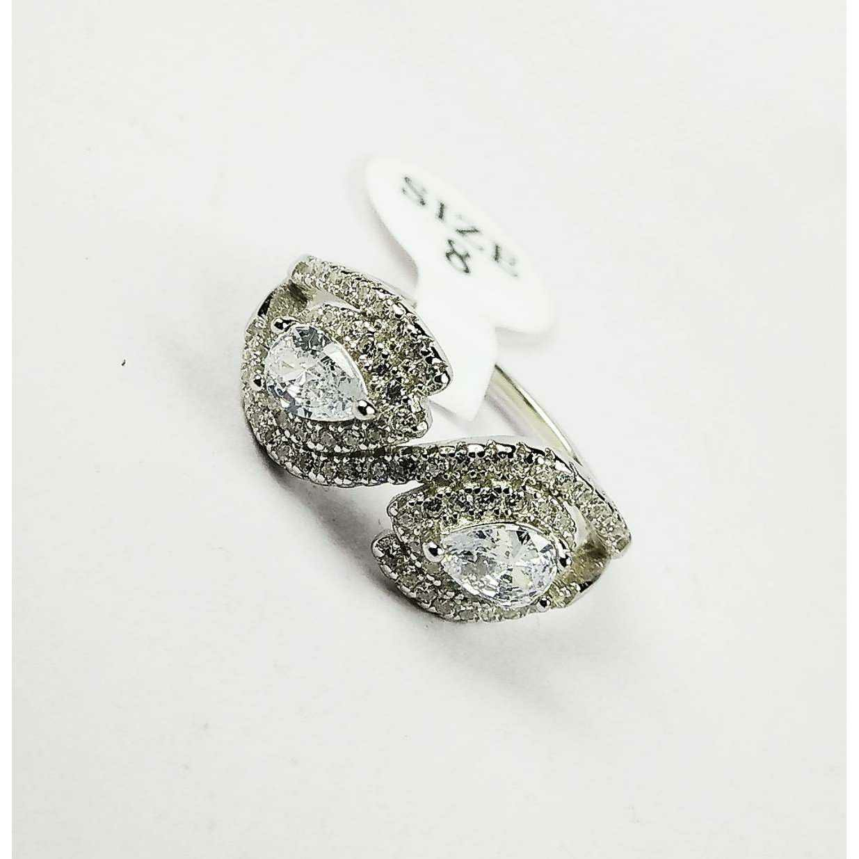 Light Weight Descent Designer 925 Silver Ladies Ring