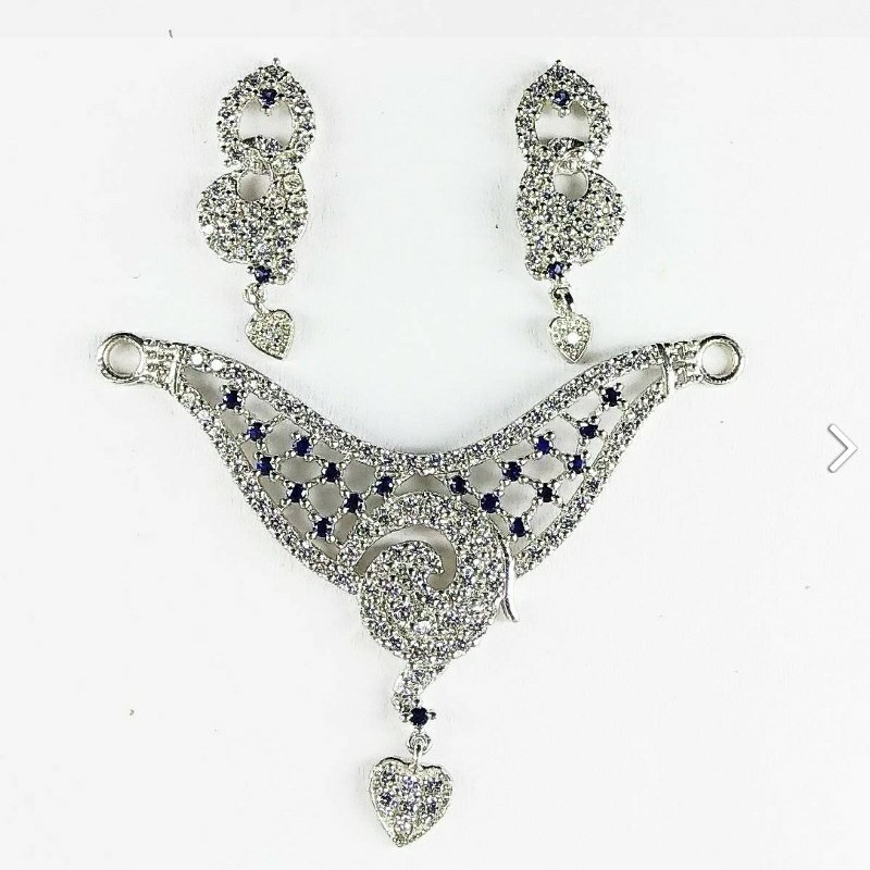 New 925 stylish silver mangalsutra pendant