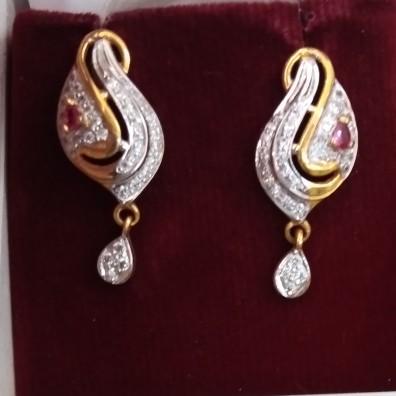 916 hallmarked Earring HT5797