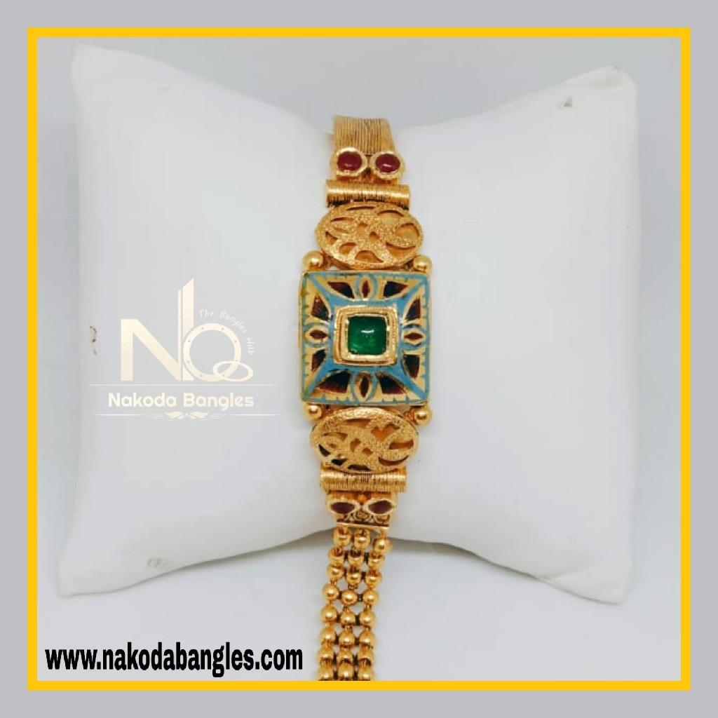 916 Gold Antique Bracelet NB - 557